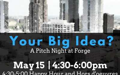 Your Big Idea: Forge Pitch Night!