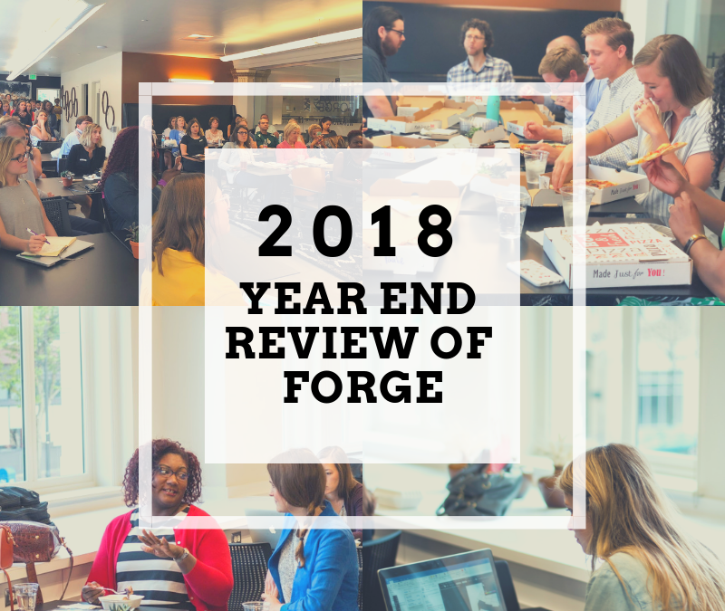 Year End Review of Forge – 2018 at a Glance